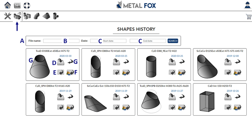 Jobs historical of MetalFox, the software for sheet metal workers and pipefitters.